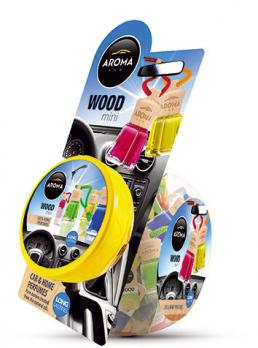 Ароматизатор для авто Wood Aroma Car 4 ml банка
