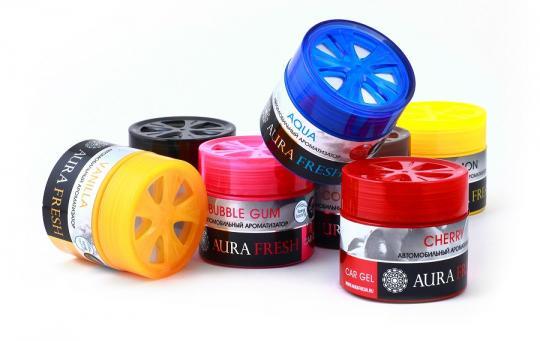 Автомобильный ароматизатор Car Gel Aura Fresh