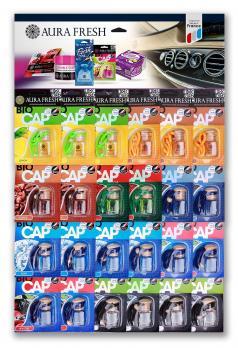 Ароматизаторы Bio Cap Fruits Aura Fresh  планшет 24 штуки